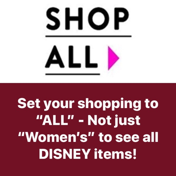 Disney Other - SHOP ALL So You See MENS & Kids too-Bundle to Save